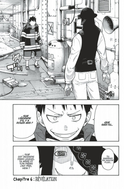 Page 5 Fire Force tome 2