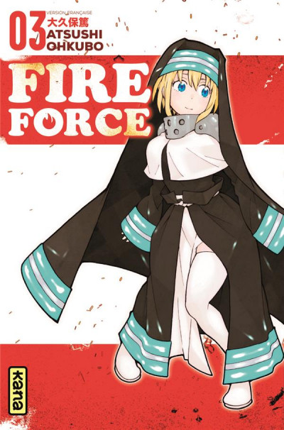 Couverture Fire force tome 3