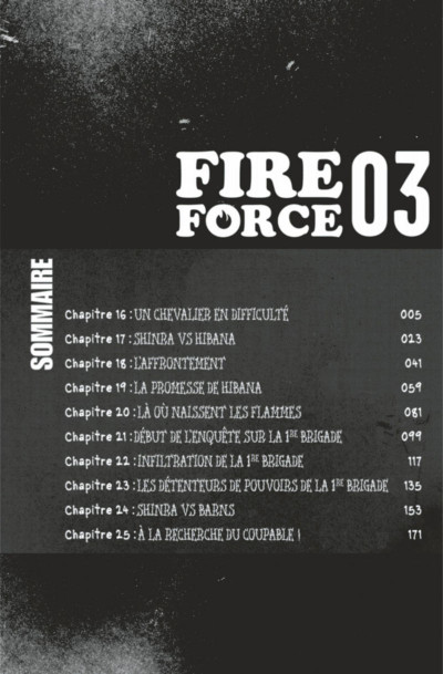 Page 4 Fire force tome 3