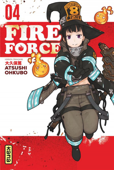 Couverture Fire force tome 4