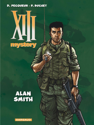 Couverture XIII mystery tome 12 - Alan Smith