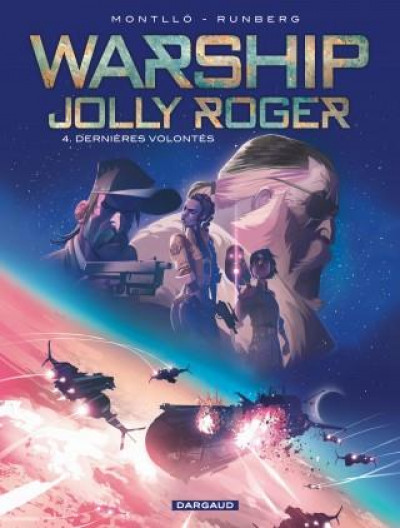 Couverture Warship Jolly Roger tome 4