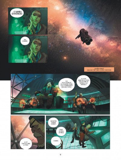 Page 6 Warship Jolly Roger tome 4
