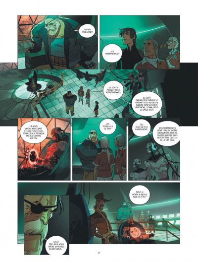 Page 7 Warship Jolly Roger tome 4