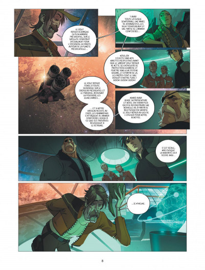 Page 8 Warship Jolly Roger tome 4