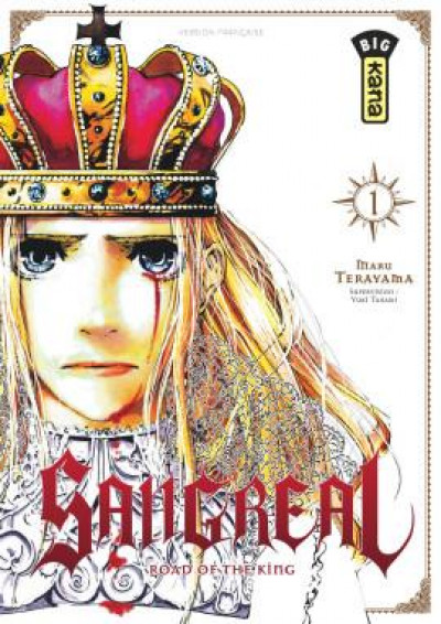 Couverture Sangreal tome 1