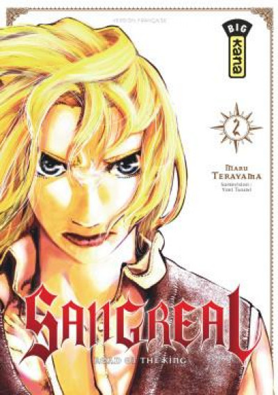 Couverture Sangreal tome 2