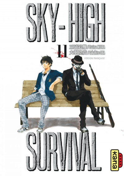 Couverture Sky-high survival tome 11
