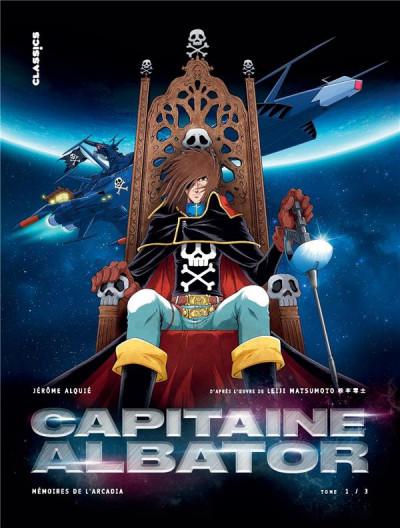 Couverture Capitaine Albator - mémoires de l'Arcadia tome 1