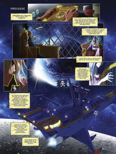 Page 4 Capitaine Albator - mémoires de l'Arcadia tome 1