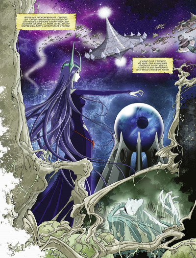 Page 5 Capitaine Albator - mémoires de l'Arcadia tome 1