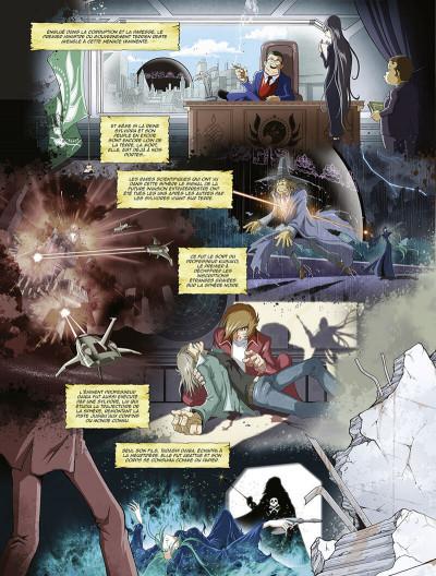 Page 7 Capitaine Albator - mémoires de l'Arcadia tome 1