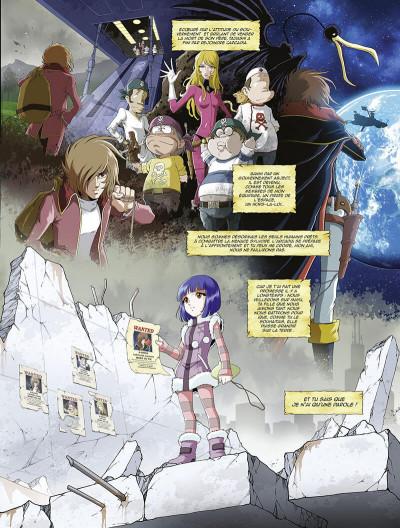 Page 8 Capitaine Albator - mémoires de l'Arcadia tome 1