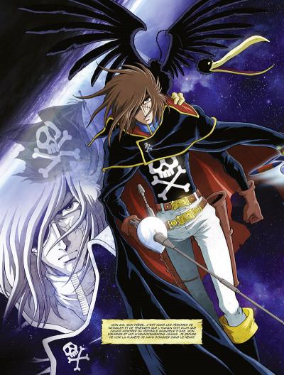 Page 9 Capitaine Albator - mémoires de l'Arcadia tome 1