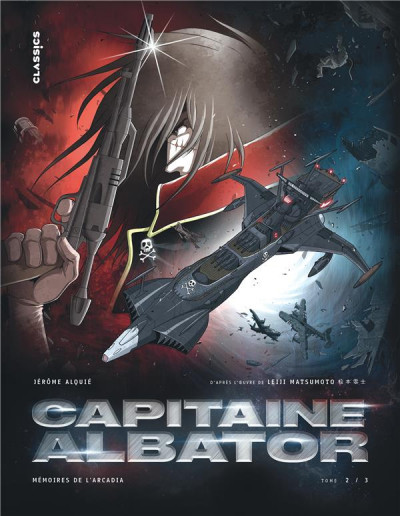 Couverture Capitaine Albator - mémoires de l'Arcadia tome 2