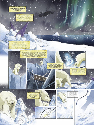 Page 4 Capitaine Albator - mémoires de l'Arcadia tome 2
