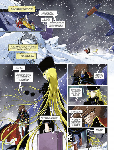 Page 7 Capitaine Albator - mémoires de l'Arcadia tome 2