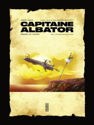 Page 2 Capitaine Albator - Mémoires de l'arcadia tome 3