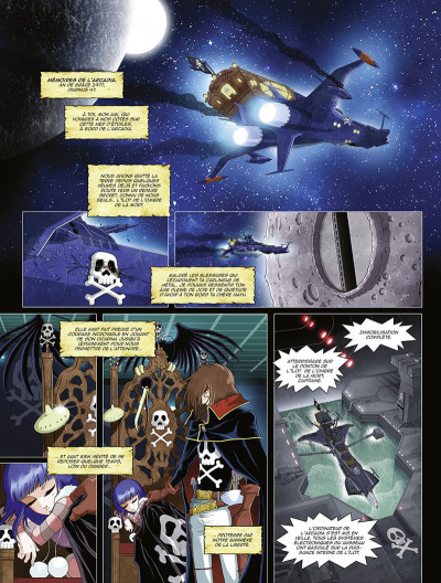 Page 9 Capitaine Albator - Mémoires de l'arcadia tome 3