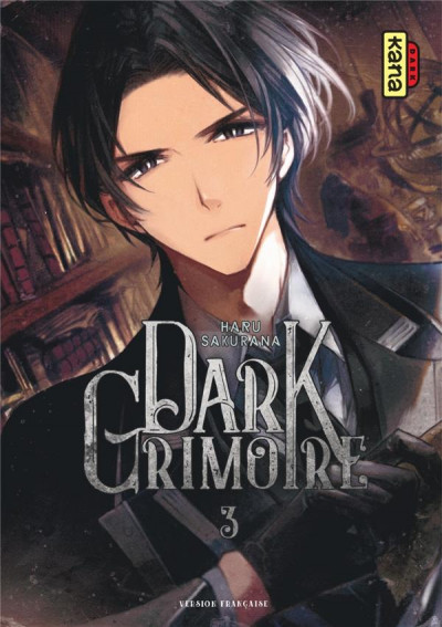 Couverture Dark grimoire tome 3
