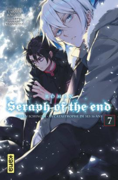 Couverture Seraph of the end - roman tome 7
