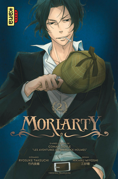 Couverture Moriarty tome 2