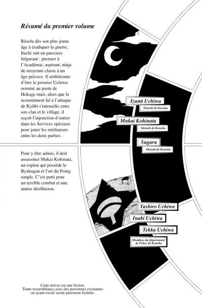 Page 6 Naruto roman - La véritable histoire d'Itachi tome 2
