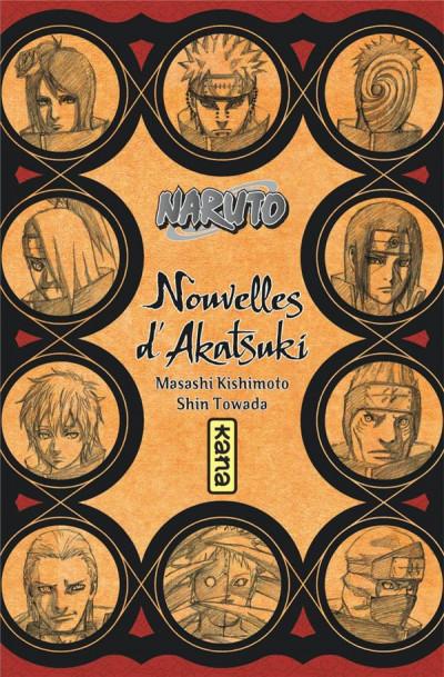 Couverture Naruto - roman - Nouvelles d'Akatsuki