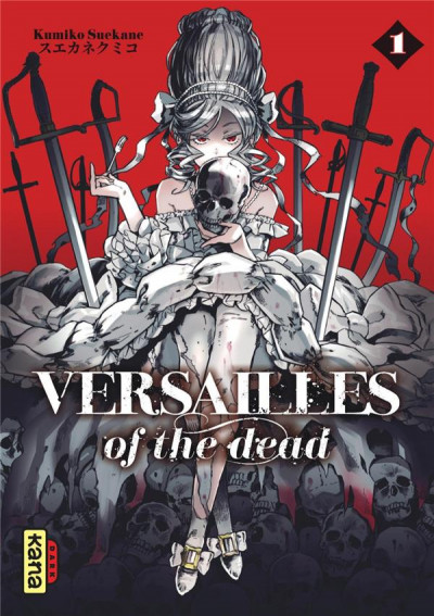 Couverture Versailles of the dead tome 1