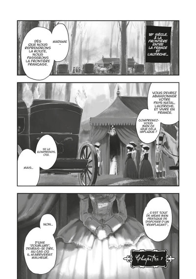 Page 4 Versailles of the dead tome 1