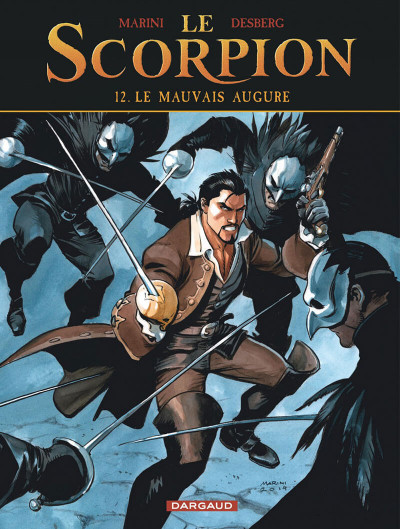 Couverture Le scorpion tome 12