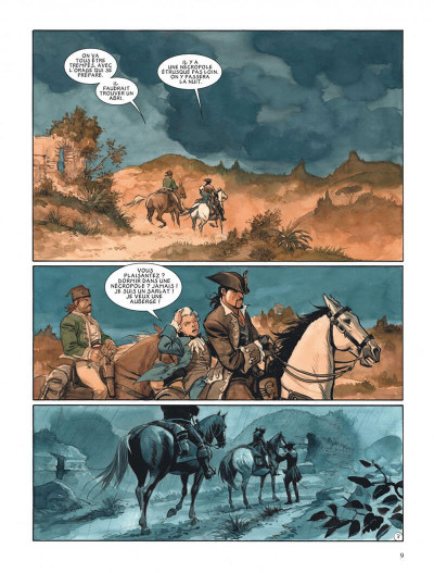Page 9 Le scorpion tome 12