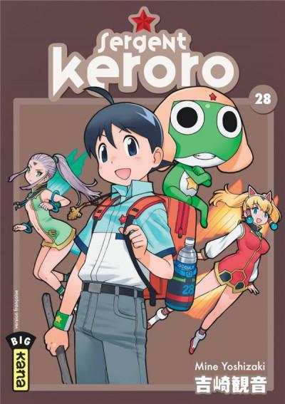 Couverture Sergent Keroro tome 28