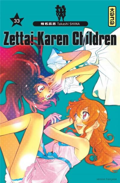 Couverture Zettai Karen Children tome 33