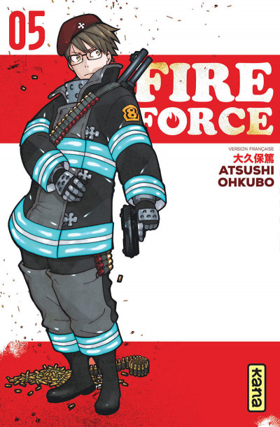 Couverture Fire force tome 5