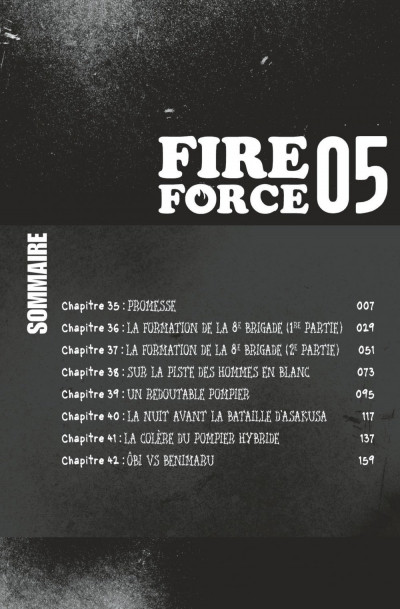 Page 6 Fire force tome 5