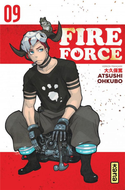 Couverture Fire force tome 9