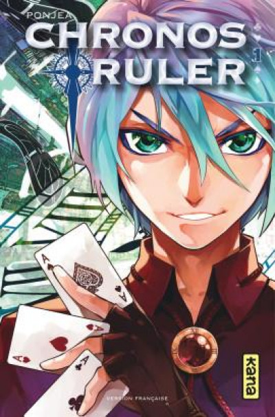 Couverture Chronos ruler tome 1