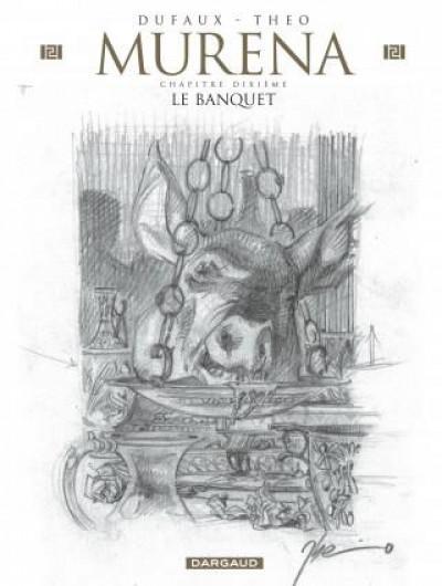 Couverture Murena - édition crayonnée tome 10