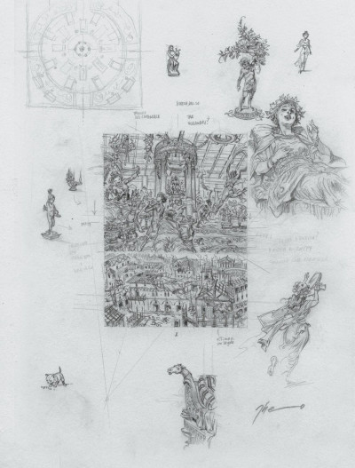 Page 1 Murena - édition crayonnée tome 10
