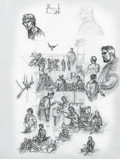 Page 0 Murena - édition crayonnée tome 10