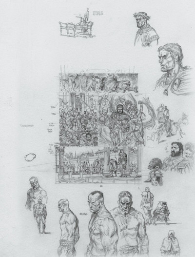 Page 2 Murena - édition crayonnée tome 10