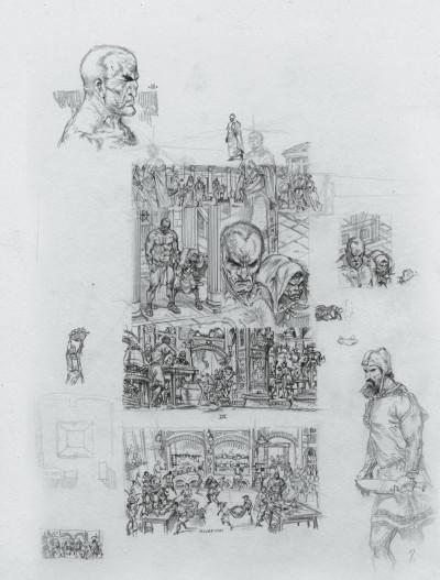 Page 5 Murena - édition crayonnée tome 10