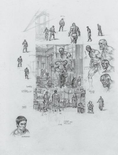 Page 6 Murena - édition crayonnée tome 10