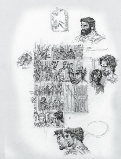 Page 7 Murena - édition crayonnée tome 10