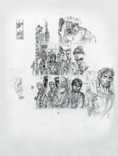 Page 8 Murena - édition crayonnée tome 10