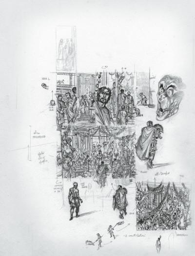 Page 9 Murena - édition crayonnée tome 10