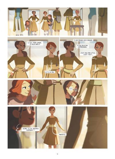Page 9 Emma et Capucine tome 3