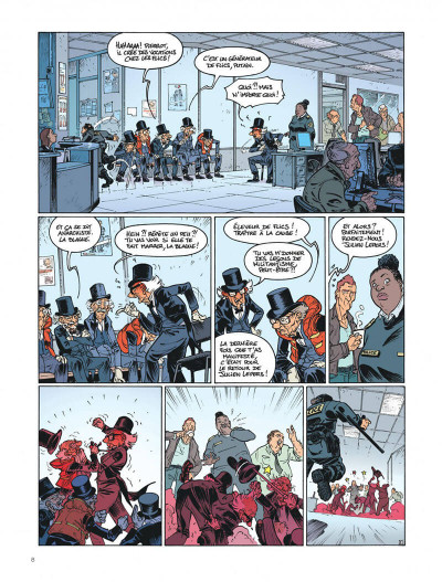 Page 8 Les vieux fourneaux tome 5