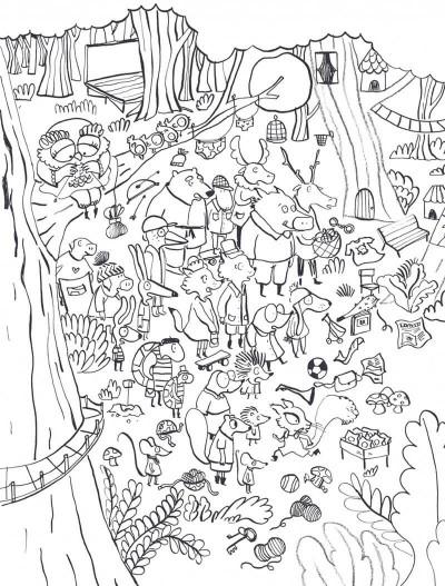 Page 8 Le loup en slip - Livre d'activités